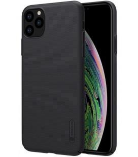"Juodas dėklas Apple iPhone 11 Pro Max telefonui ""Nillkin Frosted Shield"""