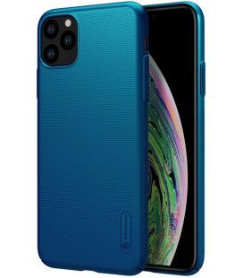 "Mėlynas dėklas Apple iPhone 11 Pro Max telefonui ""Nillkin Frosted Shield"""