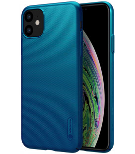 "Mėlynas dėklas Apple iPhone 11 telefonui ""Nillkin Frosted Shield"""