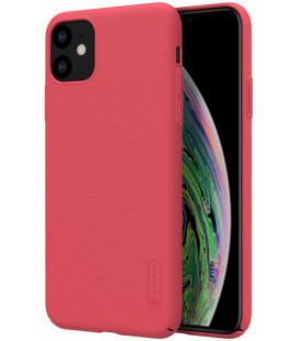 """Raudonas dėklas Apple iPhone 11 telefonui """"Nillkin Frosted Shield"""""""