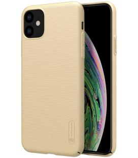 """Auksinės spalvos dėklas Apple iPhone 11 telefonui """"Nillkin Frosted Shield"""""""