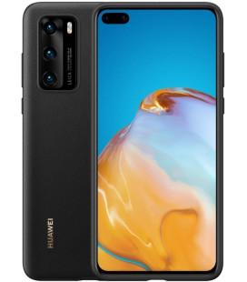 """Originalus juodas dėklas Huawei P40 telefonui """"Protective Cover"""""""