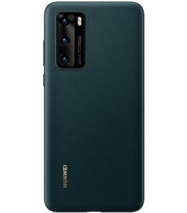 """Originalus žalias dėklas Huawei P40 telefonui """"PU Case"""""""