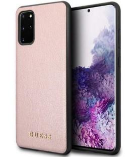 """Rožinis dėklas Samsung Galaxy S20 Plus telefonui """"GUHCS67IGLRG Guess Iridescent Cover"""""""