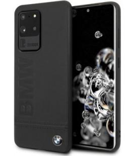 "Juodas dėklas Samsung Galaxy S20 Ultra telefonui ""BMHCS69LLSB BMW Imprint Logo Cover"""