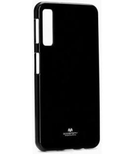 """Juodas silikoninis dėklas Samsung Galaxy A70 telefonui """"Mercury Goospery Pearl Jelly Case"""""""