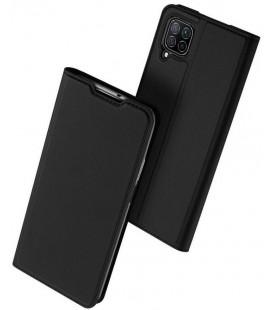 """Juodas atverčiamas dėklas Huawei P40 Lite telefonui """"Dux Ducis Skin Pro"""""""