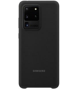 """Originalus juodas dėklas """"Silicone Cover"""" Samsung Galaxy S20 Ultra telefonui """"EF-PG988TBE"""""""