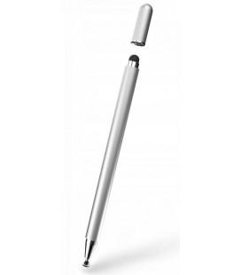"""Sidabrinės spalvos pieštukas - Stylus telefonui/planšetei/kompiuteriui """"Tech-Protect Magnet"""""""