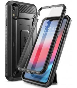 "Juodas dėklas Apple iPhone XR telefonui ""Supcase Unicorn Beetle Pro"""