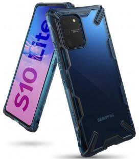 "Mėlynas dėklas Samsung Galaxy S10 Lite telefonui ""Ringke Fusion X"""