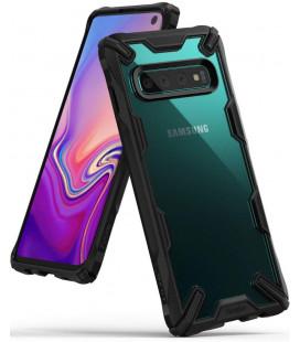 """Juodas dėklas Samsung Galaxy S10 telefonui """"Ringke Fusion X"""""""