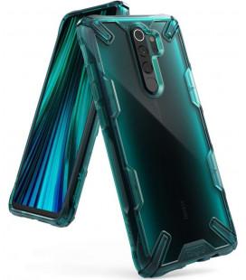 """Žalias dėklas Xiaomi Redmi Note 8 Pro telefonui """"Ringke Fusion X"""""""