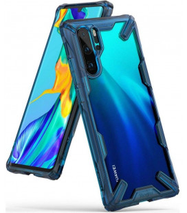 """Mėlynas dėklas Huawei P30 Pro telefonui """"Ringke Fusion X"""""""