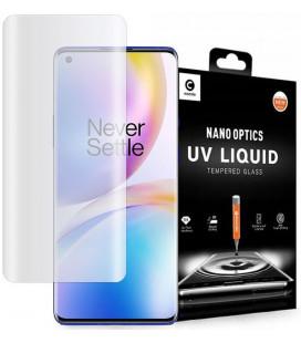 """Skaidrus apsauginis grūdintas stiklas Oneplus 8 Pro telefonui """"Mocolo UV Glass"""""""