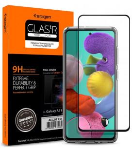 """Apsauginis grūdintas stiklas Samsung Galaxy A51 telefonui """"Spigen Glas.TR Slim"""""""