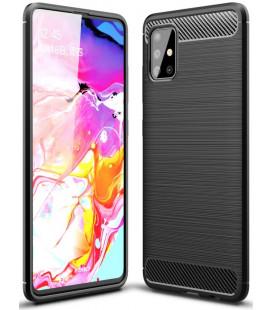 """Juodas dėklas Samsung Galaxy A51 telefonui """"Tech-Protect"""""""