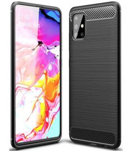 """Juodas dėklas Samsung Galaxy A71 telefonui """"Tech-Protect"""""""