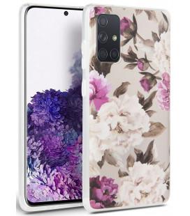 "Gelsvas dėklas Samsung Galaxy A71 telefonui ""Tech-protect Floral"""