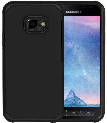"Juodas dėklas Samsung Galaxy Xcover 4/4S telefonui ""Tech-Protect Tough"""