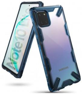 "Mėlynas dėklas Samsung Galaxy Note 10 Lite telefonui ""Ringke Fusion X"""