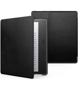 """Juodas atverčiamas dėklas Amazon Kindle Oasis 2/3 skaityklei """"Tech-Protect Smartcase"""""""