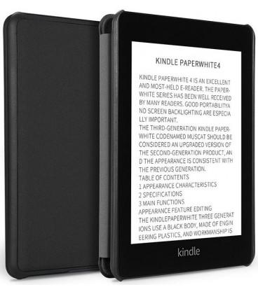 """Juodas atverčiamas dėklas Amazon Kindle Paperwhite IV/4 2018/2019 skaityklei """"Dux Ducis Domo"""""""