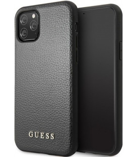 "Juodas dėklas Apple iPhone 11 Pro telefonui ""GUHCN58IGLBK Guess Iridescent Cover"""