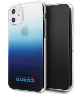"Mėlynas dėklas Apple iPhone 11 telefonui ""GUHCN61DGCNA Guess California Cover"""