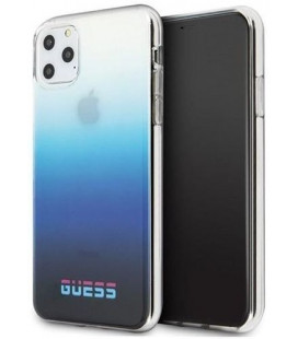 "Mėlynas dėklas Apple iPhone 11 Pro Max telefonui ""GUHCN65DGCNA Guess California Cover"""