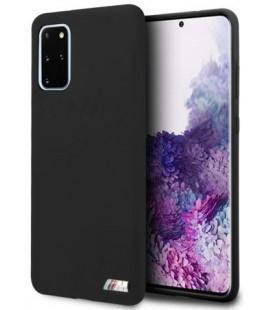 """Juodas dėklas Samsung Galaxy S20 Plus telefonui """"BMHCS67MSILBK BMW Silicone Cover"""""""