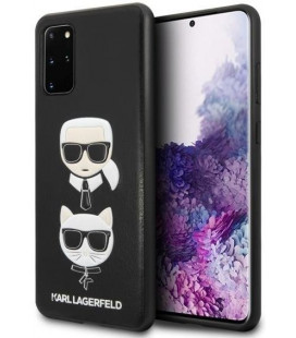 "Juodas dėklas Samsung Galaxy S20 Plus telefonui ""KLHCS67KICKC Karl Lagerfeld & Choupette Head Cover"""