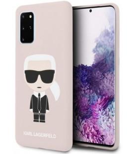 "Rožinis dėklas Samsung Galaxy S20 Plus telefonui ""KLHCS67SLFKPI Karl Lagerfeld Full Body Cover"""