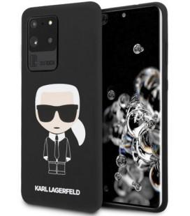 "Juodas dėklas Samsung Galaxy S20 Ultra telefonui ""KLHCS69SLFKBK Karl Lagerfeld Full Body Cover"""