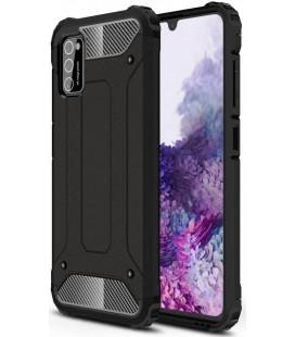 """Juodas dėklas Samsung Galaxy A41 telefonui """"Tech-Protect Xarmor"""""""