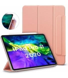 """Rausvai auksinės spalvos atverčiamas dėklas Apple iPad Pro 11 2018/2020 planšetei """"ESR Rebound Magnetic"""""""