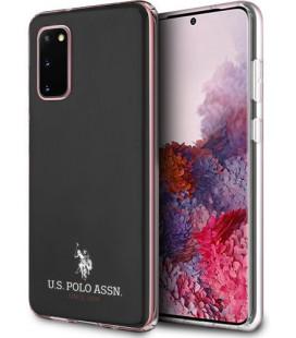 "Juodas dėklas Samsung Galaxy S20 telefonui ""USHCS62TPUBK U.S. Polo Small Horse Cover"""