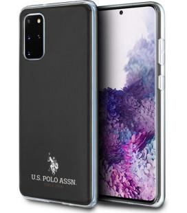 "Juodas dėklas Samsung Galaxy S20 Plus telefonui ""USHCS67TPUBK U.S. Polo Small Horse Cover"""