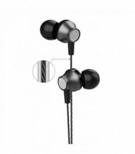 Laisvų rankų įranga Devia Metal In-ear 3,5mm juoda