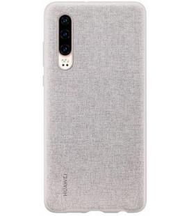 """Originalus pilkas dėklas Huawei P30 telefonui """"PU Case Elegant"""""""