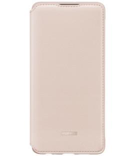 """Originalus rožinis atverčiamas dėklas Huawei P30 telefonui """"Wallet Case"""""""