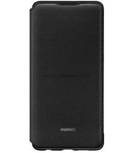 """Originalus juodas atverčiamas dėklas Huawei P30 telefonui """"Wallet Case"""""""