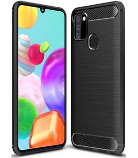 """Juodas dėklas Samsung Galaxy A21S telefonui """"Tech-Protect"""""""
