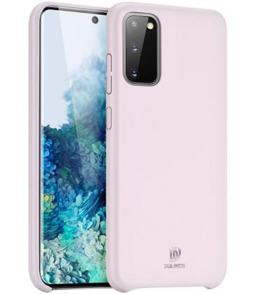 """Rožinis dėklas Samsung Galaxy S20 telefonui """"Dux Ducis Skin Lite"""""""