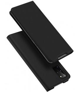 """Juodas atverčiamas dėklas Samsung Galaxy S20 Plus telefonui """"Dux Ducis Skin Pro"""""""