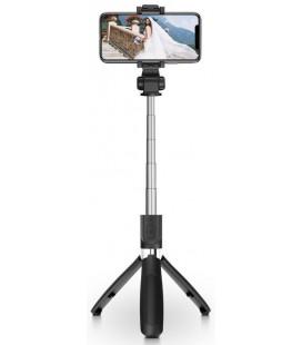 """Juodas belaidis trikojis - selfie lazda """"TECH-PROTECT L01S"""""""