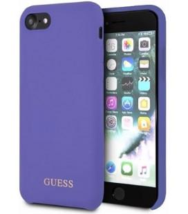"Purpurinis dėklas Apple iPhone 7/8/SE 2020 telefonui ""GUHCI8LSGLUV Guess Saffiano PU Silicone Case"""