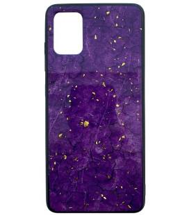 """Violetinis dėklas Samsugn Galaxy S20 telefonui """"Marble"""""""