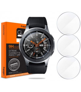 "Apsauginis grūdintas stiklas Samsung Galaxy Watch 46mm laikrodžiui ""Spigen Glas.TR Slim"""