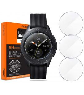 "Apsauginis grūdintas stiklas Samsung Galaxy Watch 42mm laikrodžiui ""Spigen Glas.TR Slim"""
